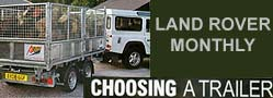 read about Atlas Trailers as featured in Land Rover Monthly Magazine